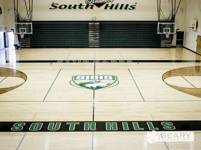 San Diego Athletic Flooring Geary Floors 110 2902 - Basketball Court Flooring - Wood Gym Flooring - Hardwood Flooring San Diego