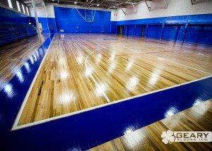 Geary Flooring Immanuel Athletic Flooring IMG 3442 300x214 - Projects - Hardwood Flooring San Diego