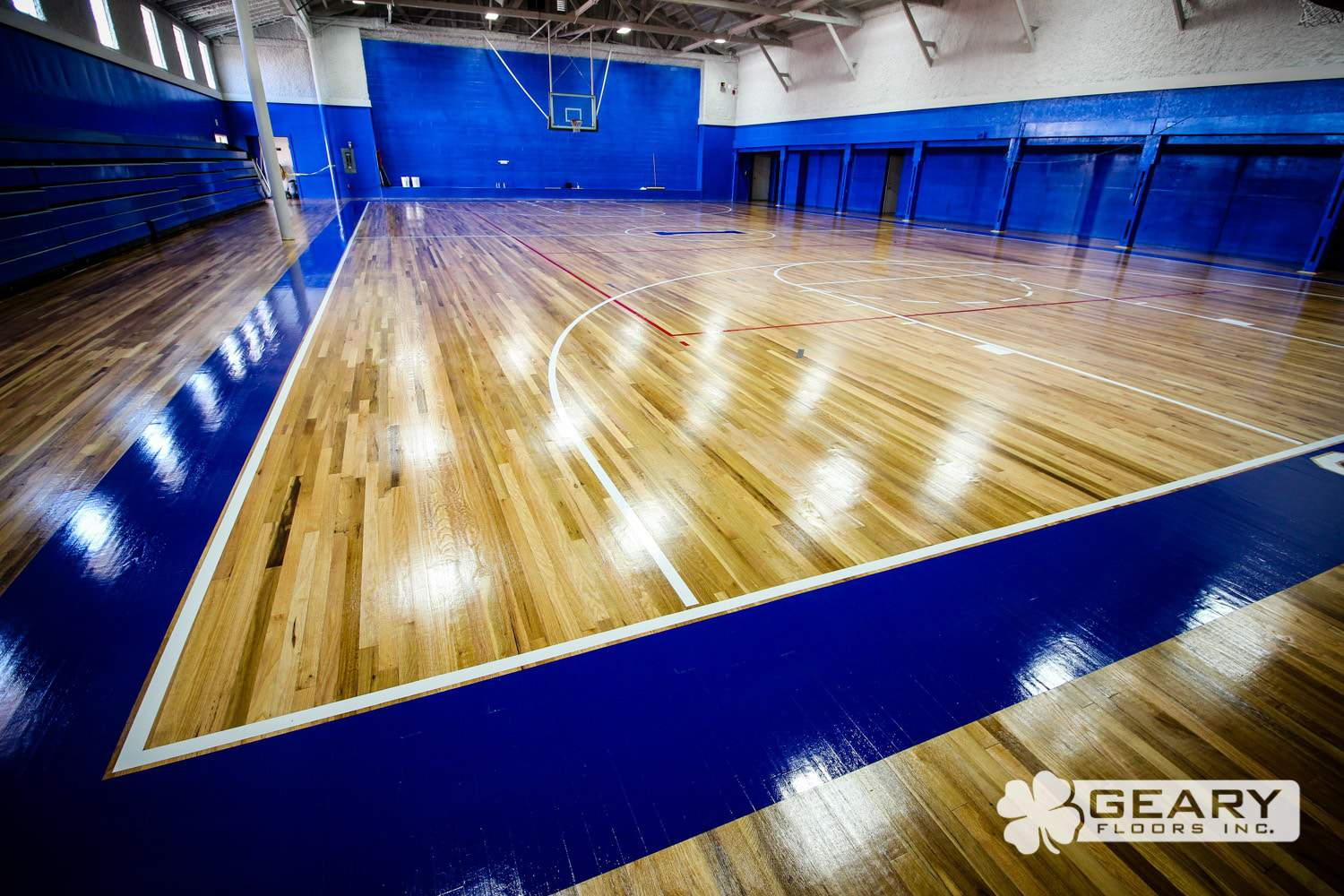 Geary Flooring Immanuel Athletic Flooring IMG 3442 - Immanuel High School (Reedley, CA) - Hardwood Flooring San Diego