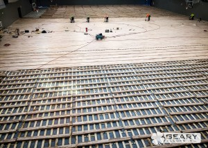 Geary Flooring North Island Athletic Flooring IMG 0225 300x214 - Projects - Hardwood Flooring San Diego