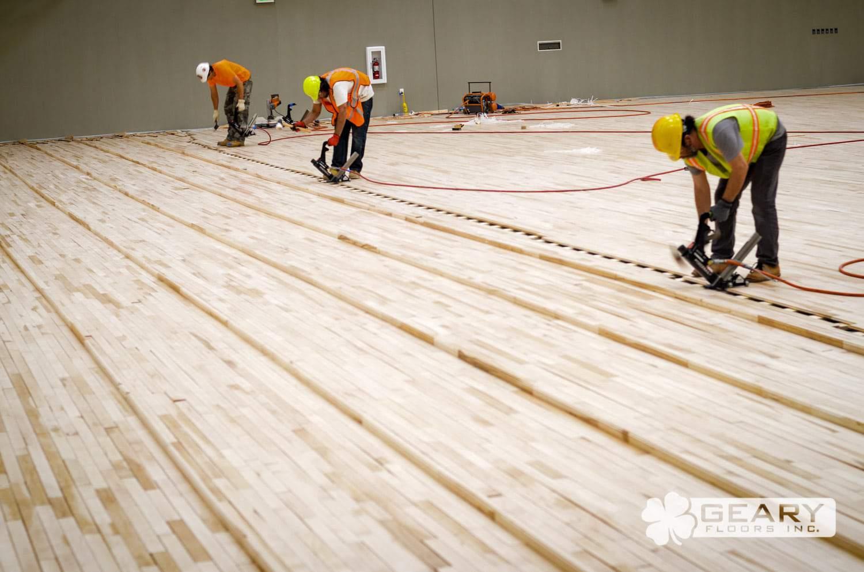 San Diego Athletic Flooring Geary Floors 52 2055 - Basketball Court Flooring - Wood Gym Flooring - Hardwood Flooring San Diego