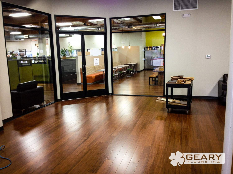 San Diego Commercial Flooring Geary Floors 5 1 - Cali Bamboo Office - Hardwood Flooring San Diego