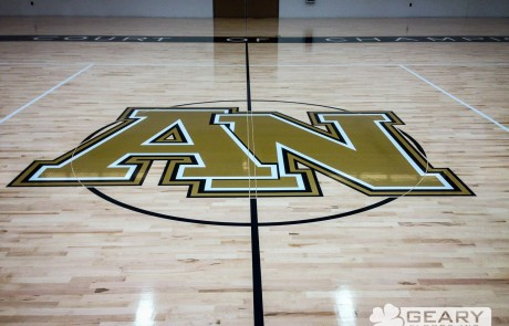 Geary Flooring Army Navy Athletic Flooring IMG 0027 460x295 - Army Navy Academy Event Center - Hardwood Flooring San Diego