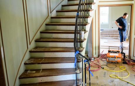 Geary Flooring Casa De Tempo Residential Flooring DSC 0012 460x295 - Casa De Tempo - Hardwood Flooring San Diego