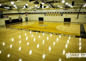 Geary Flooring Northview High Athletic Flooring DSC 0104 300x214 - Projects - Hardwood Flooring San Diego