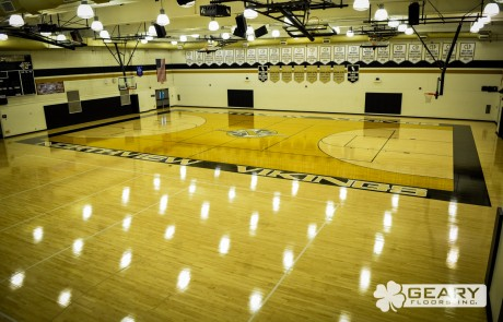 Geary Flooring Northview High Athletic Flooring DSC 0104 460x295 - NorthView High School - Hardwood Flooring San Diego