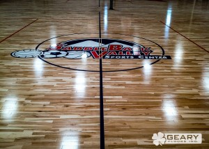 Geary Flooring Saddleback Valley Athletic Flooring IMG 0083 300x214 - Projects - Hardwood Flooring San Diego