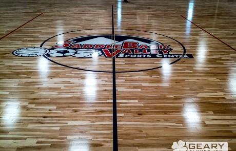Geary Flooring Saddleback Valley Athletic Flooring IMG 0083 460x295 - Saddleback Valley Sports Center - Hardwood Flooring San Diego