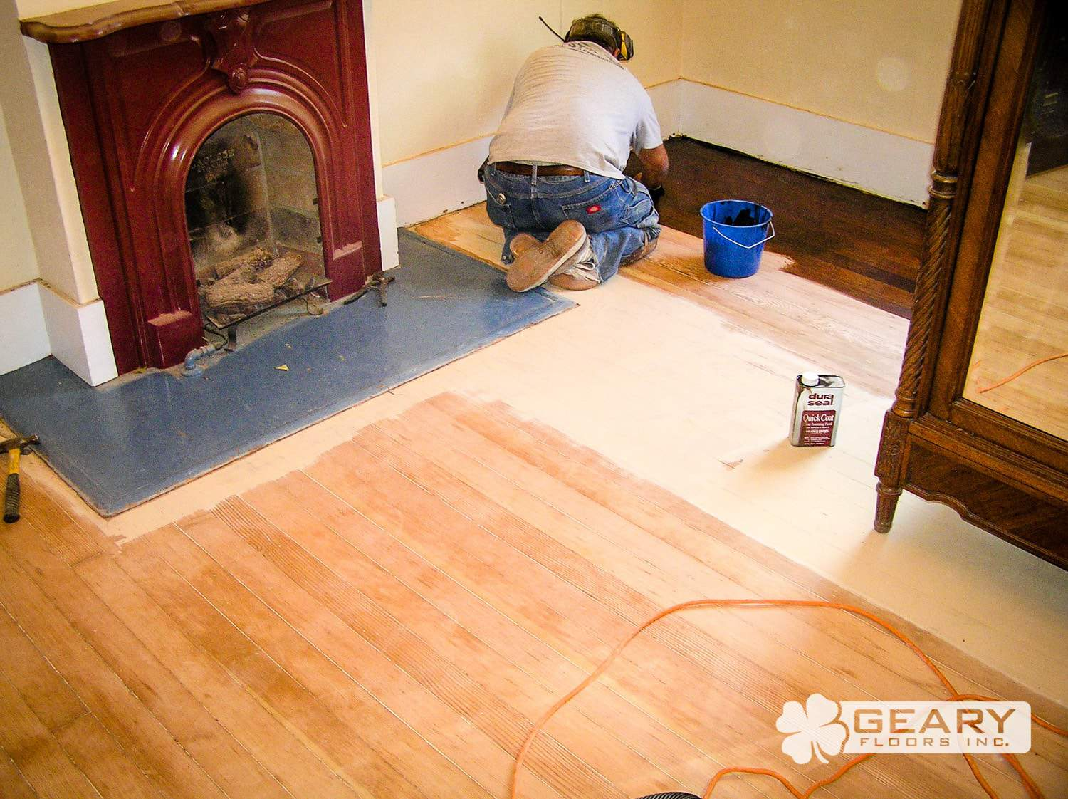 Geary Flooring Sand and Finish Residential Flooring 244 - Residential Flooring - Hardwood Flooring San Diego
